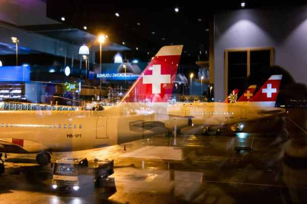 Swiss cancels all flights to China