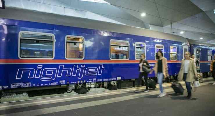 New overnight trains planned between Switzerland and Amsterdam, Rome and Barcelona