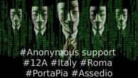 Anonymous Italia scende in campo contro il governo di Matteo Renzi.