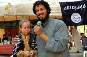 ISIS militant announces his marriage to terrified 7 year old in occupied city in Iraq Singal 1