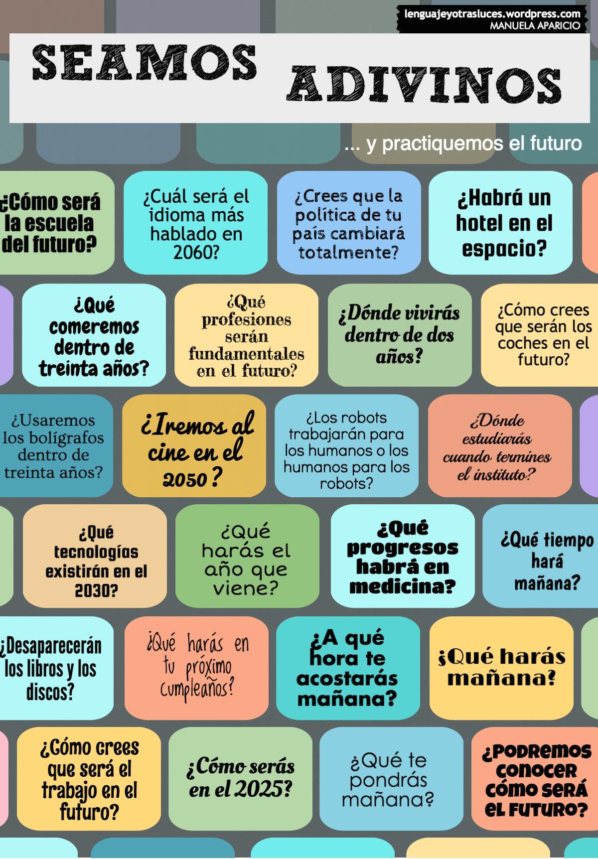 Future Tense Regular And Irregular Verbs Spanish Class