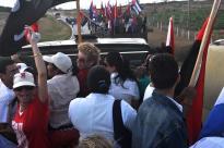 trayecto desde Guáimaro hasta la ciudad de Camagüey