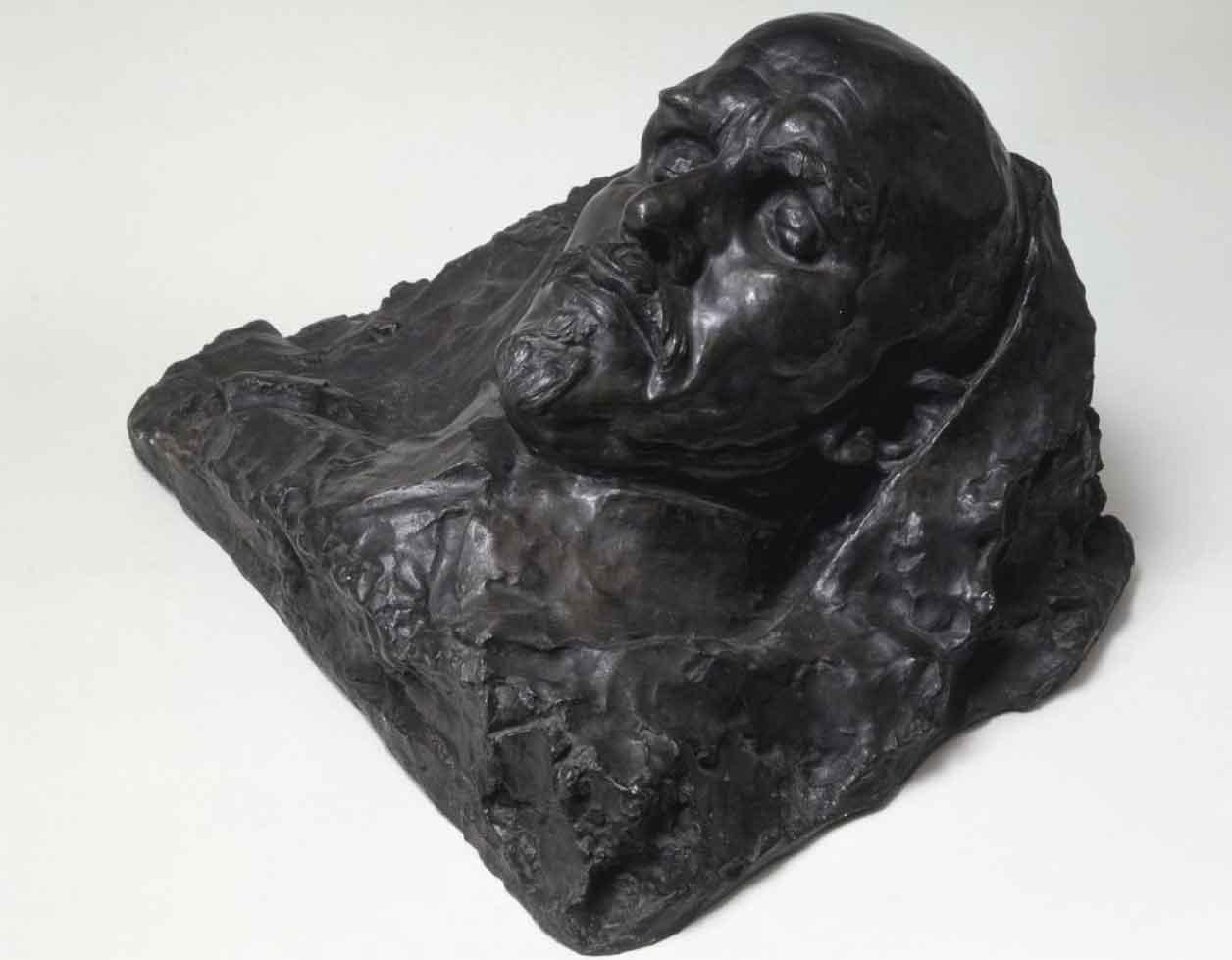 V.I. Lenin on his deathbed