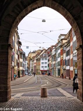 Streets in Grossbasel