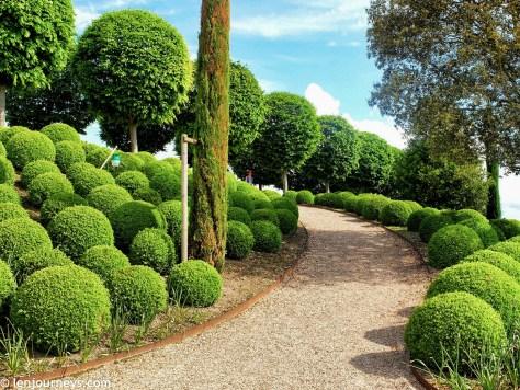 The Garden of Amboise Castle