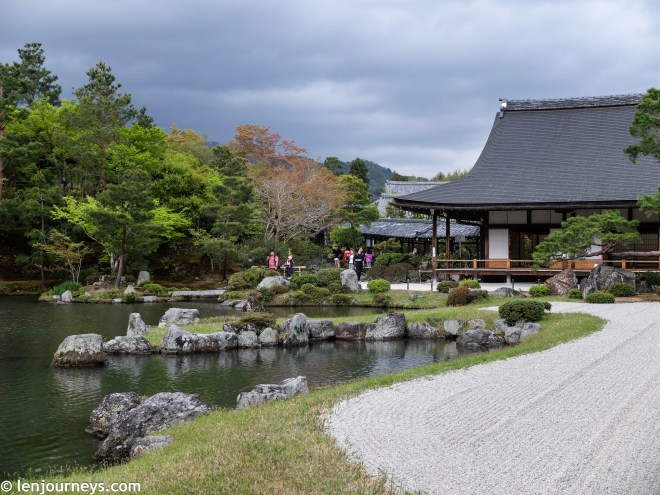 The garden of Tenryū-ji