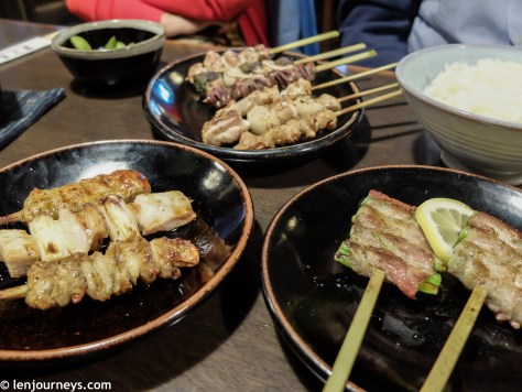 Yakitori - Skewered grilled meat