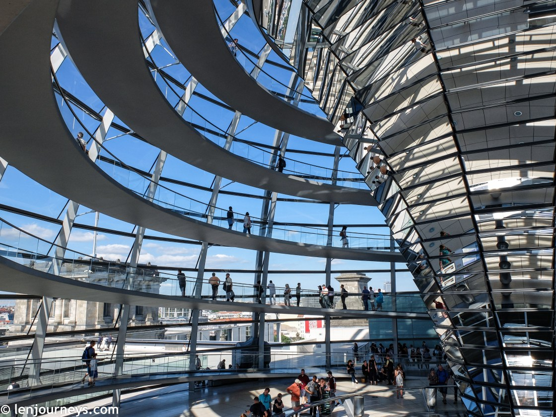Reichstag's glass dome
