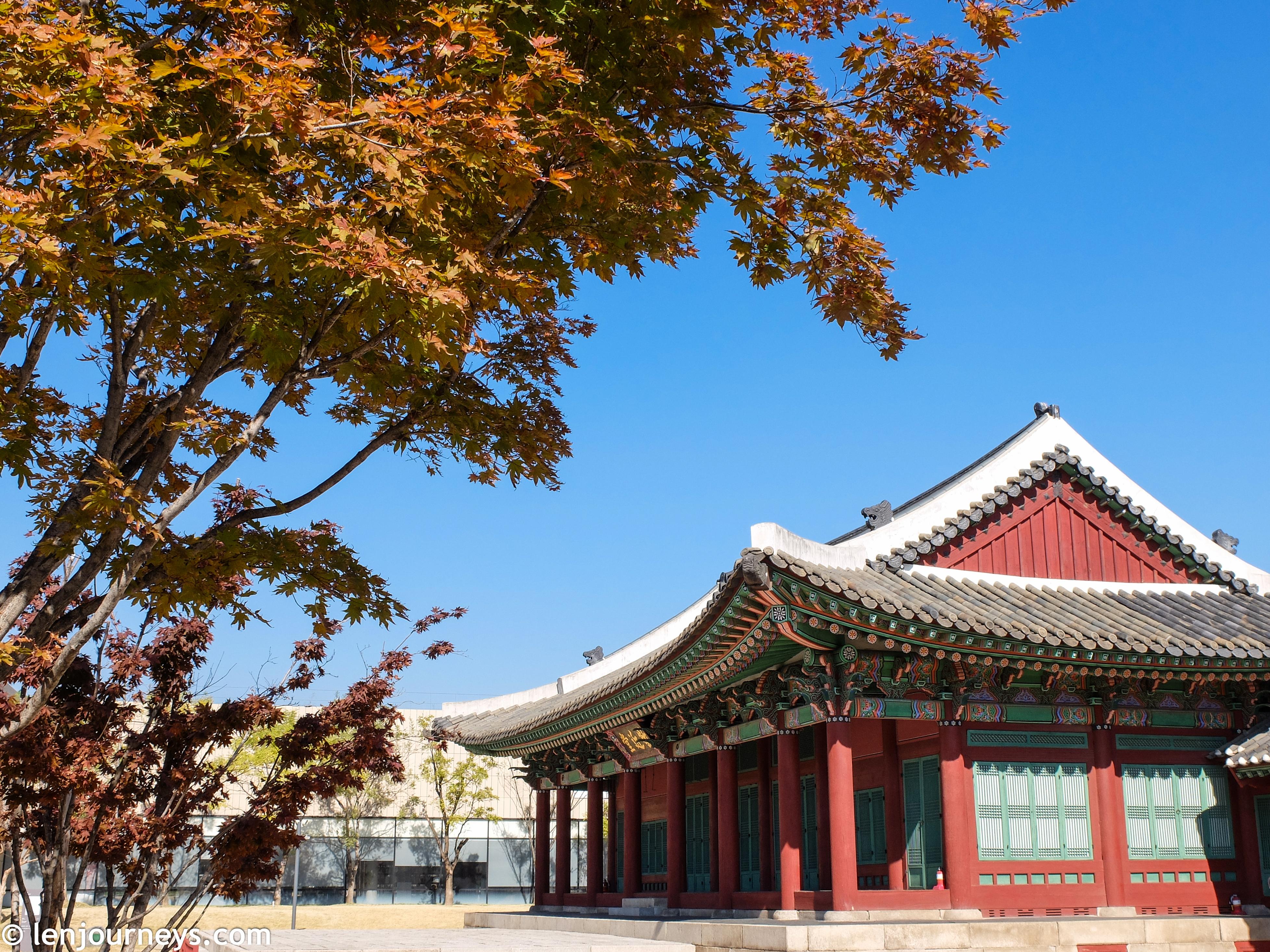 A Joseon royal building in Bukchon Hanok Village
