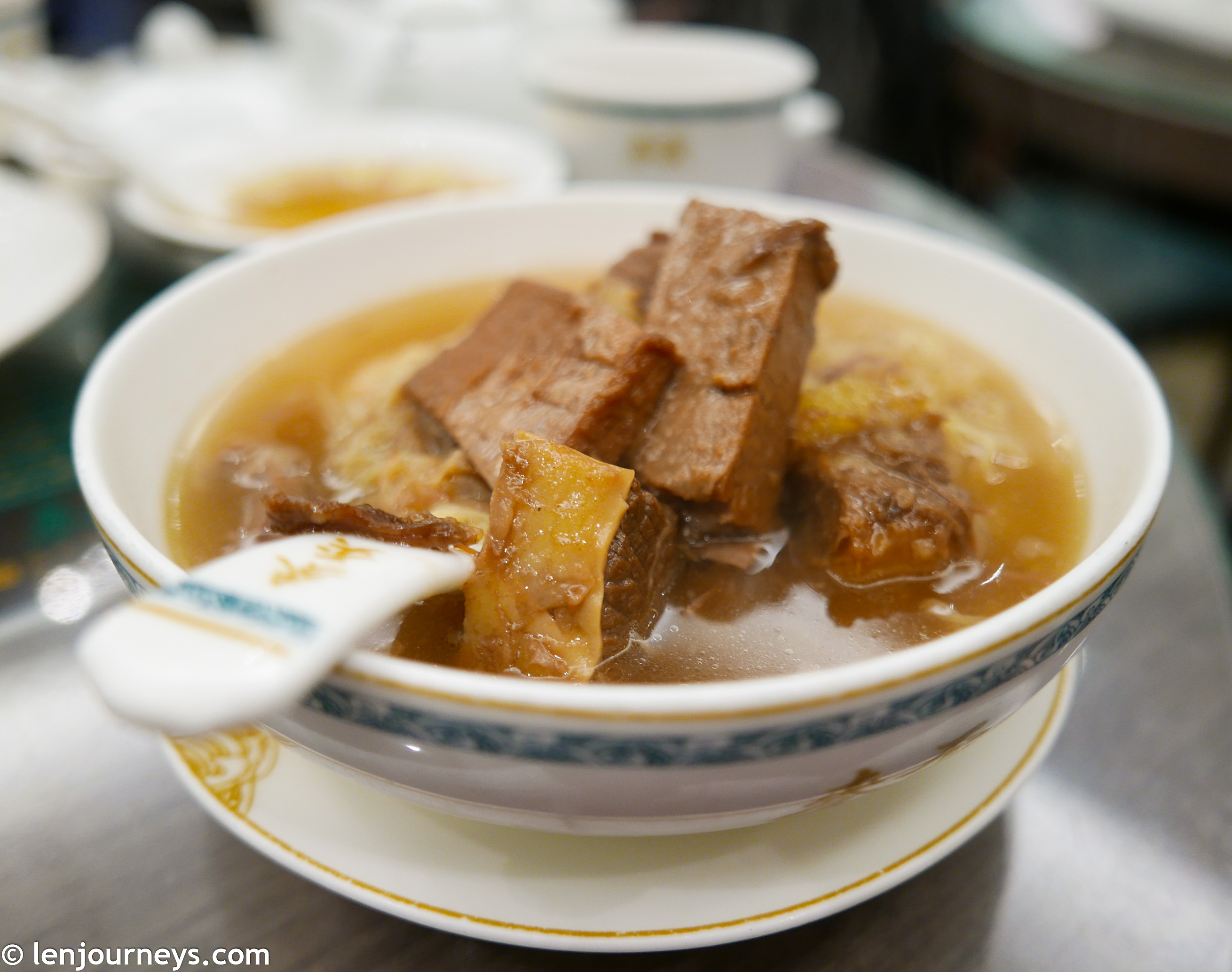 Hong Kong beef noodle