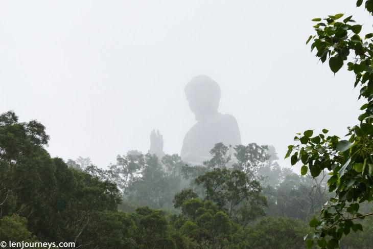 Giant Buddha in Lantau Island