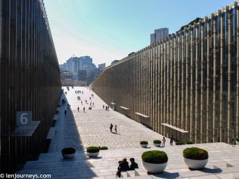 The multifunctional plaza