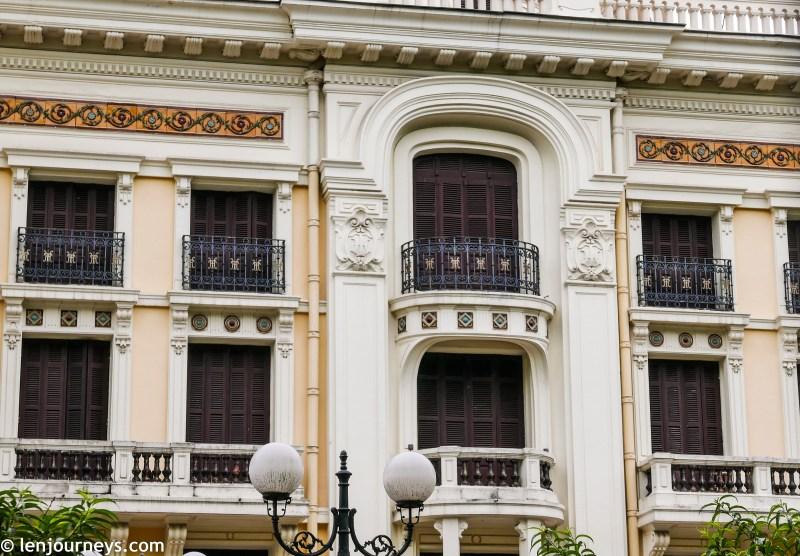 Elaborate decoration of Hanoi Opera House