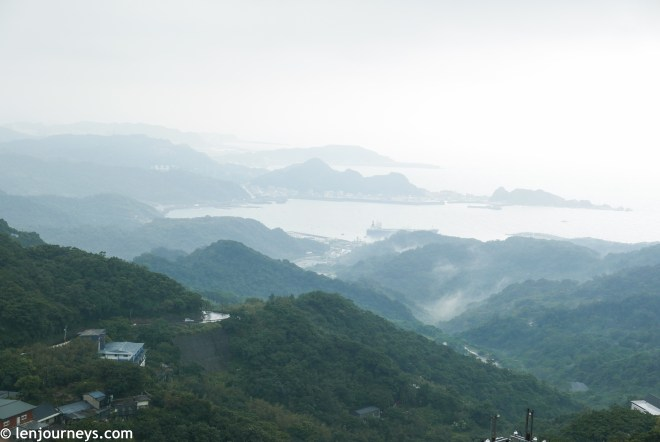 Spectacular view from Jiufen