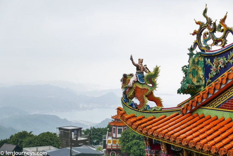 Buddhist temple in Jiufen