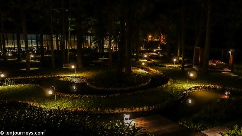 Night at the Water Garden