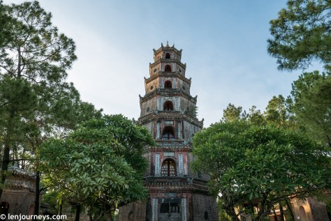 Seven-storey tower