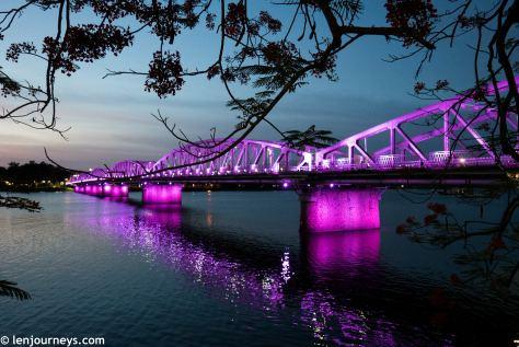 Trang Tien Bridge on the Huong River
