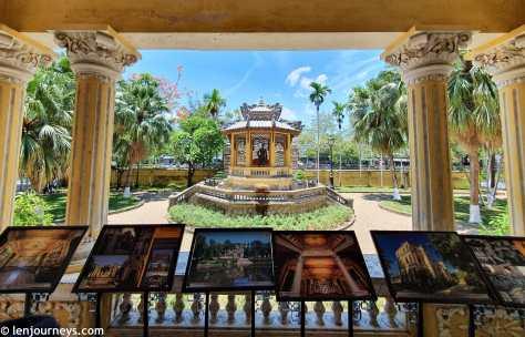 Courtyard of An Dinh Palace, Hue