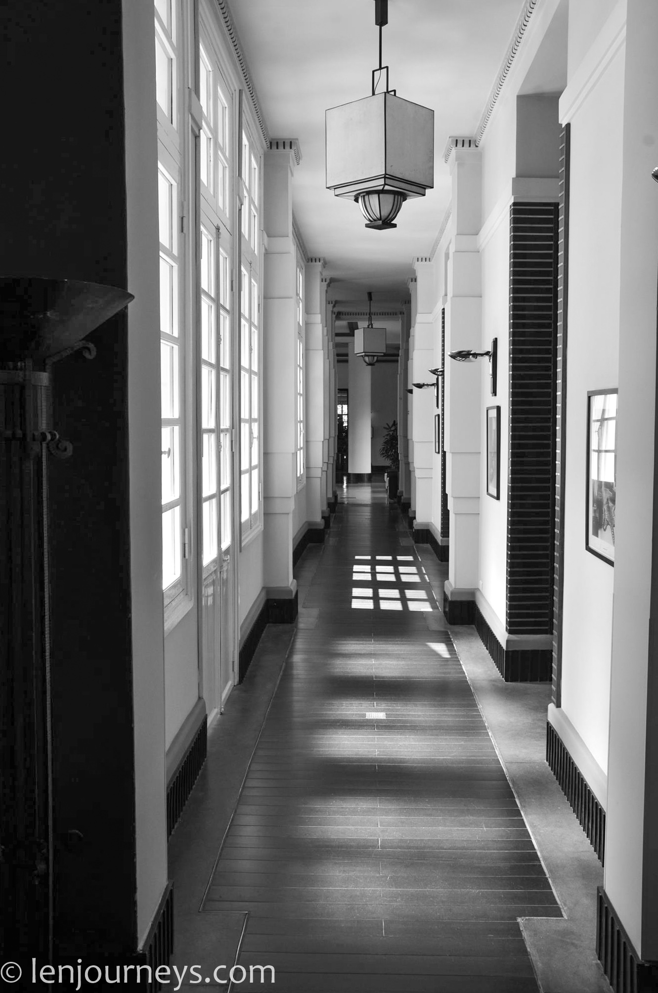 Hallway at Azerai La Residence