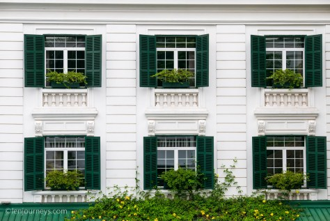 Classic French architecture in Hanoi
