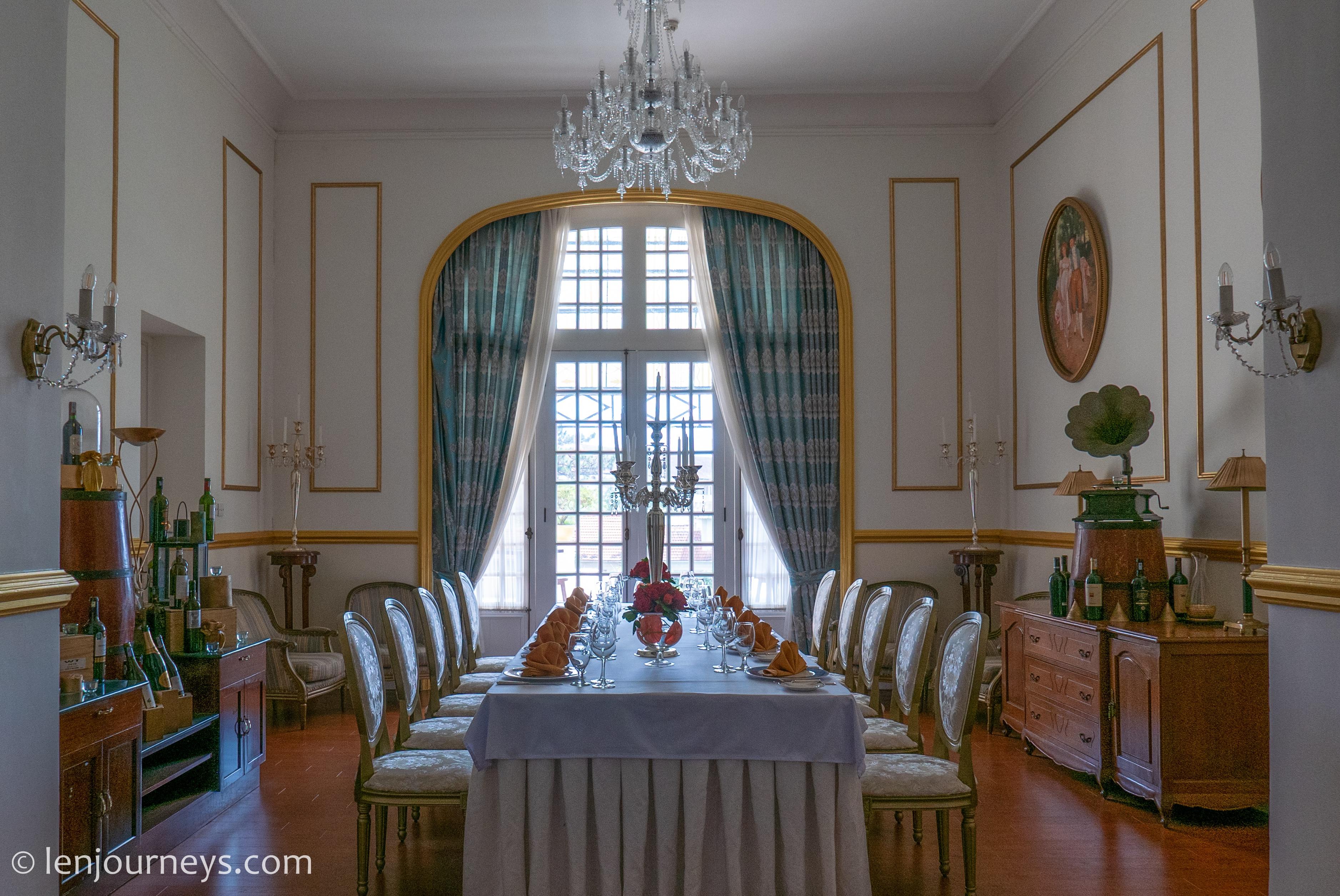 Dining room in Da Lat Palace