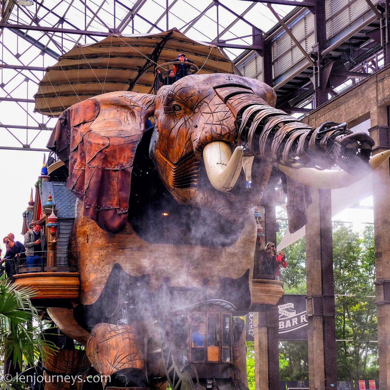 Grand Elephant, Nantes