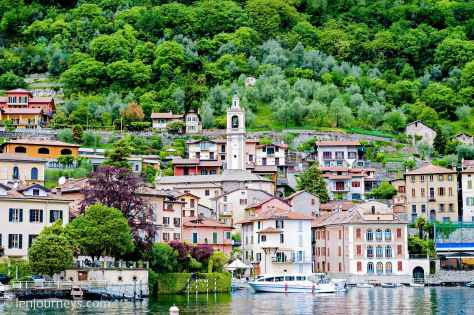 The lakeside town of Varenna