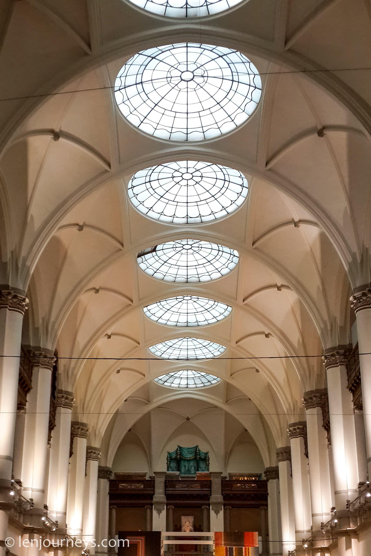 Interior of Nordic Museum