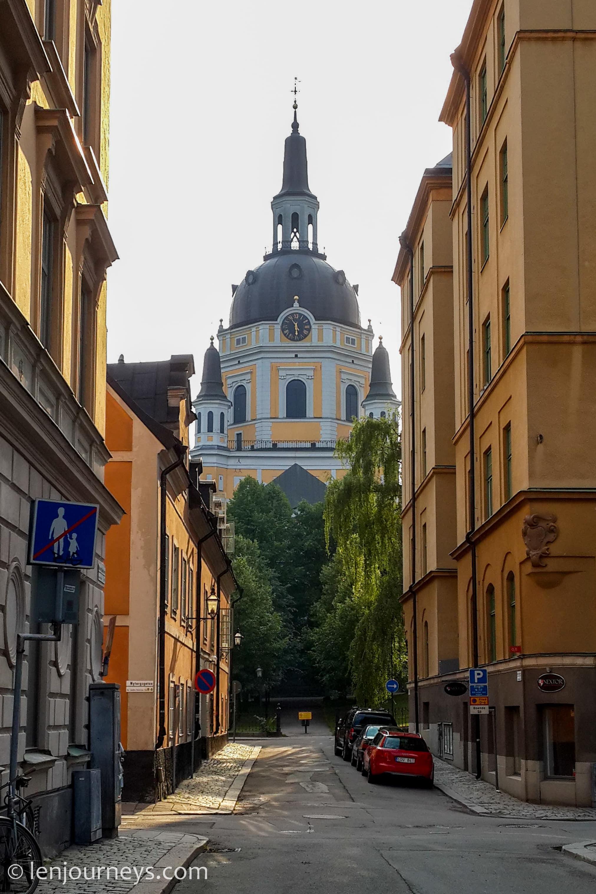 A church in Södermalm