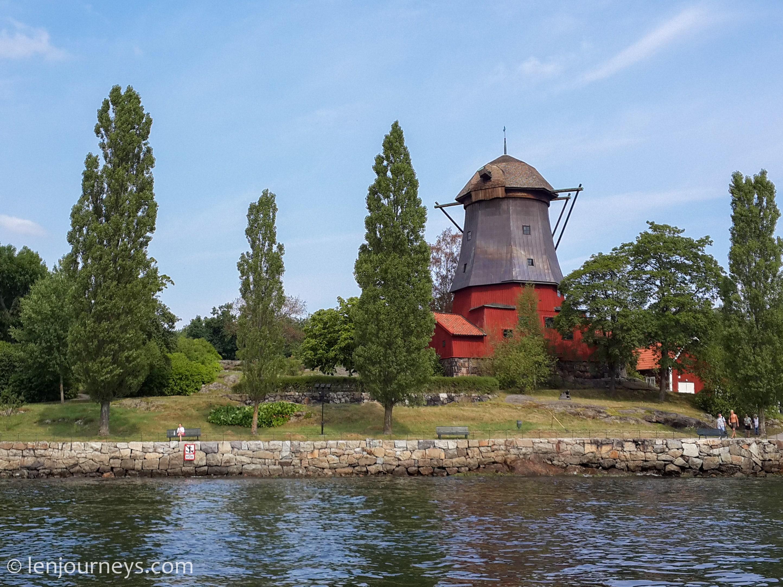 Windmill in Djurgården