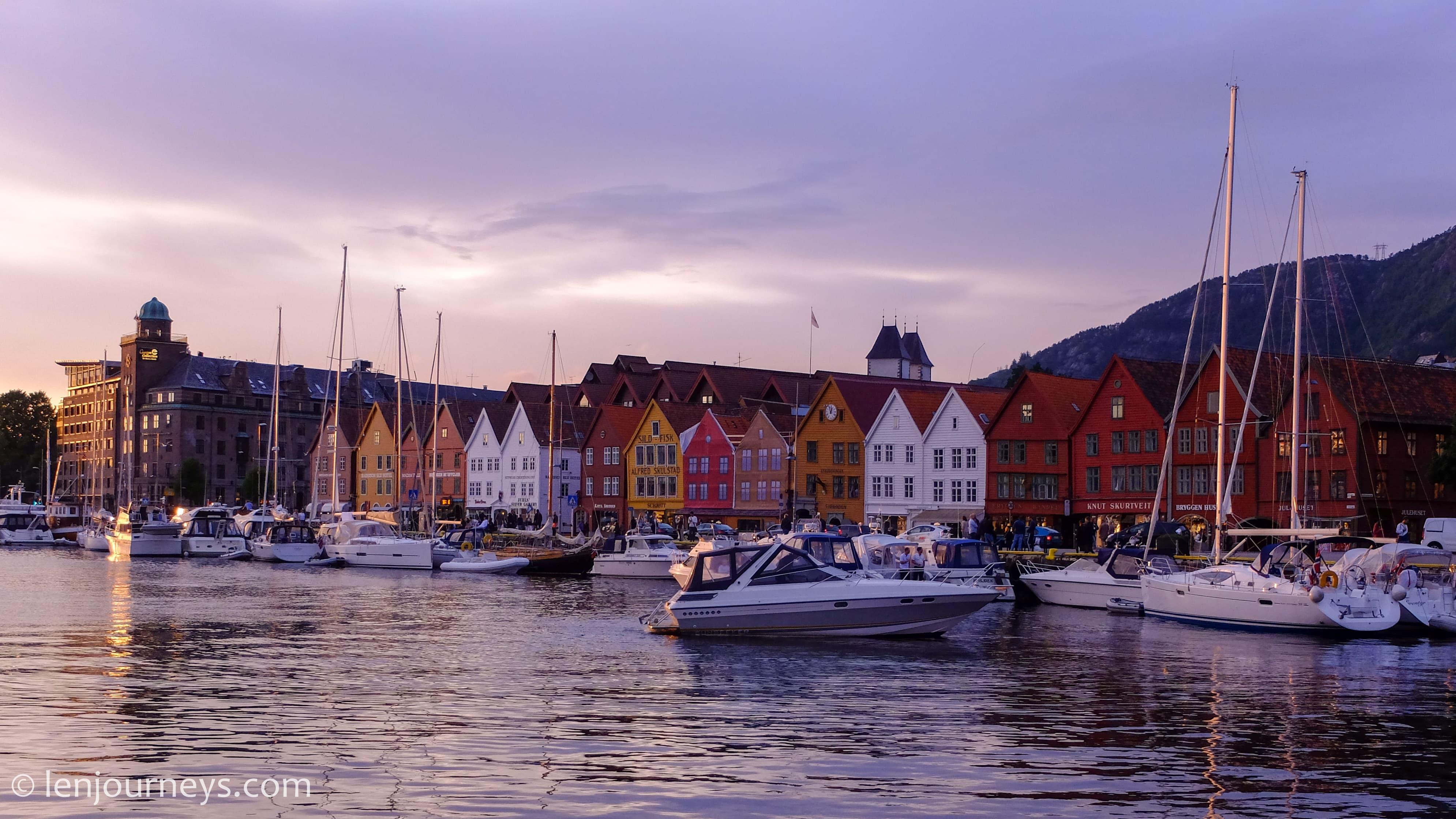 Brygge, Bergen