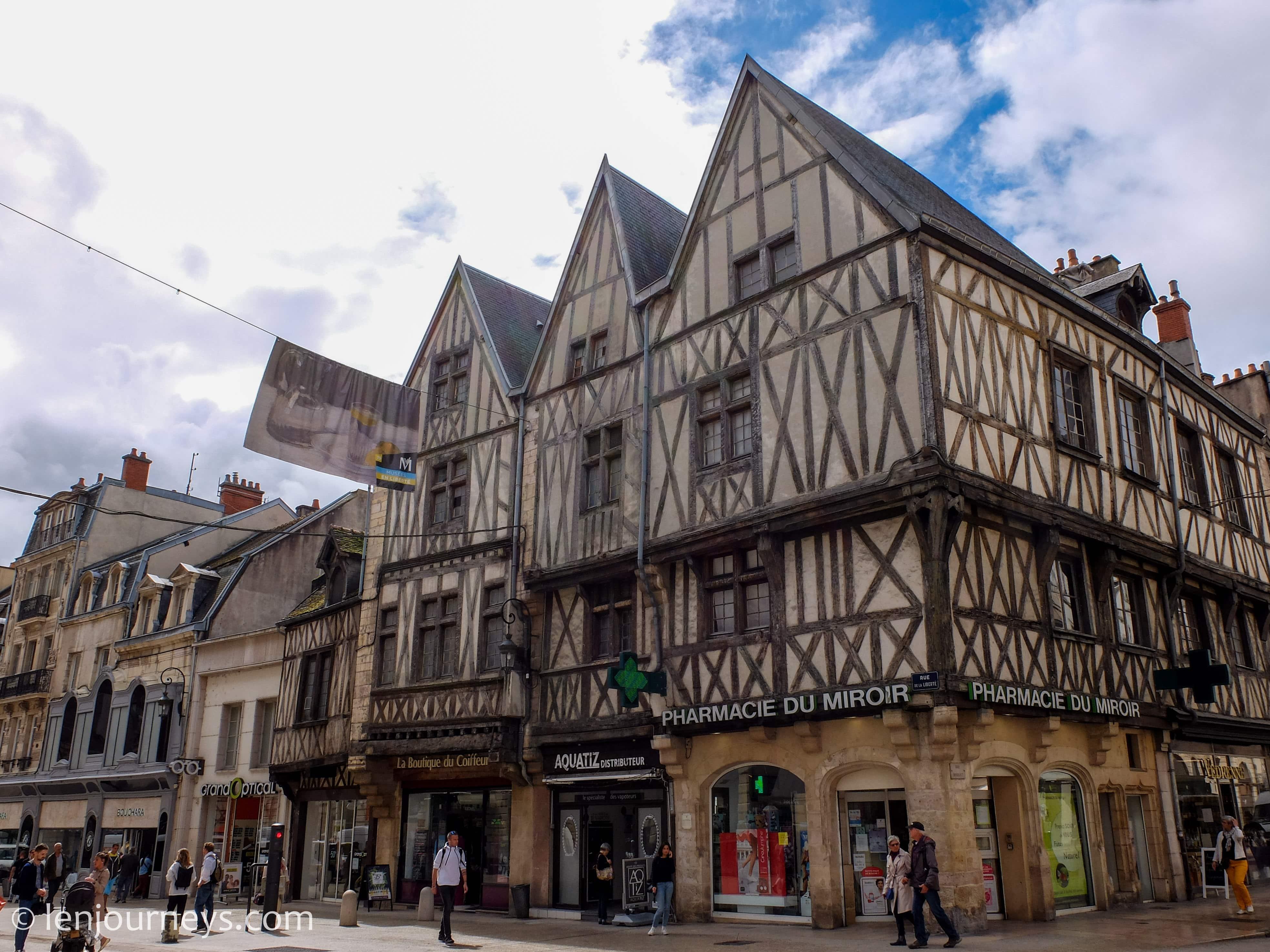 An old house in Dijon