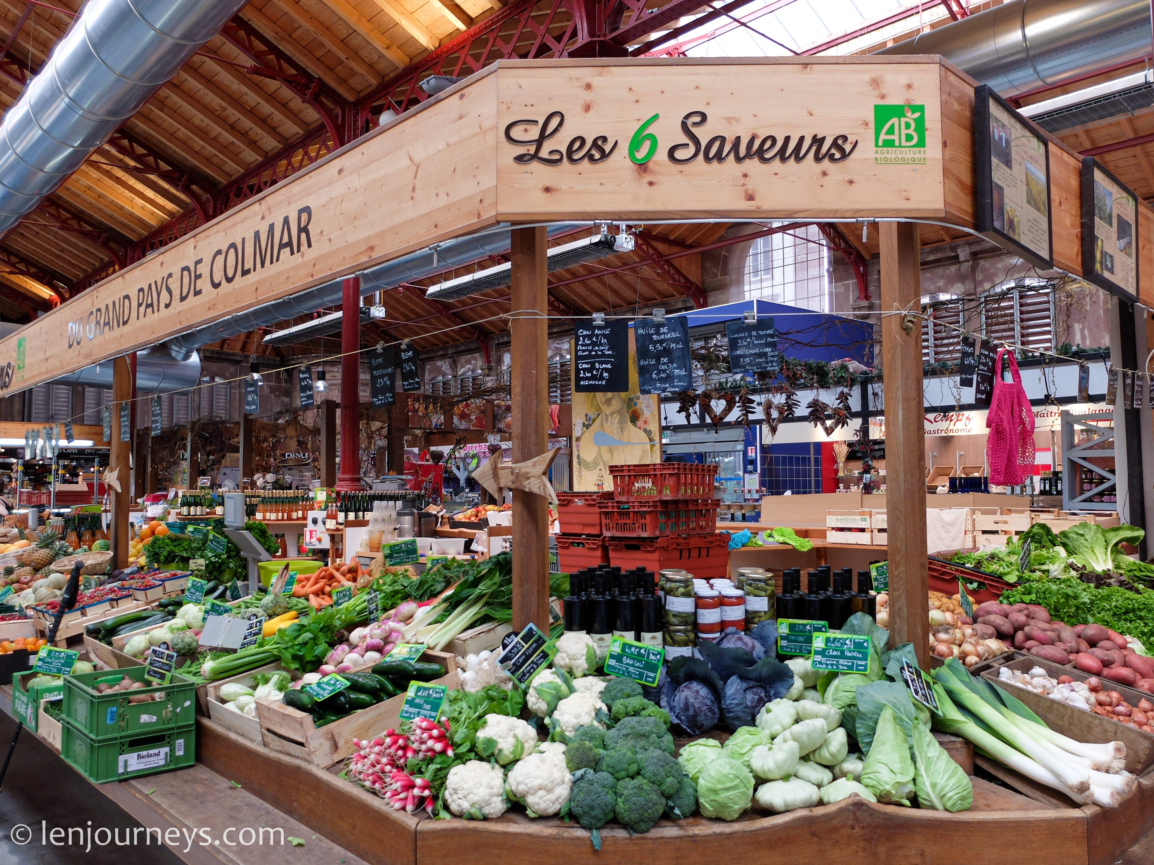 Market in Colmar