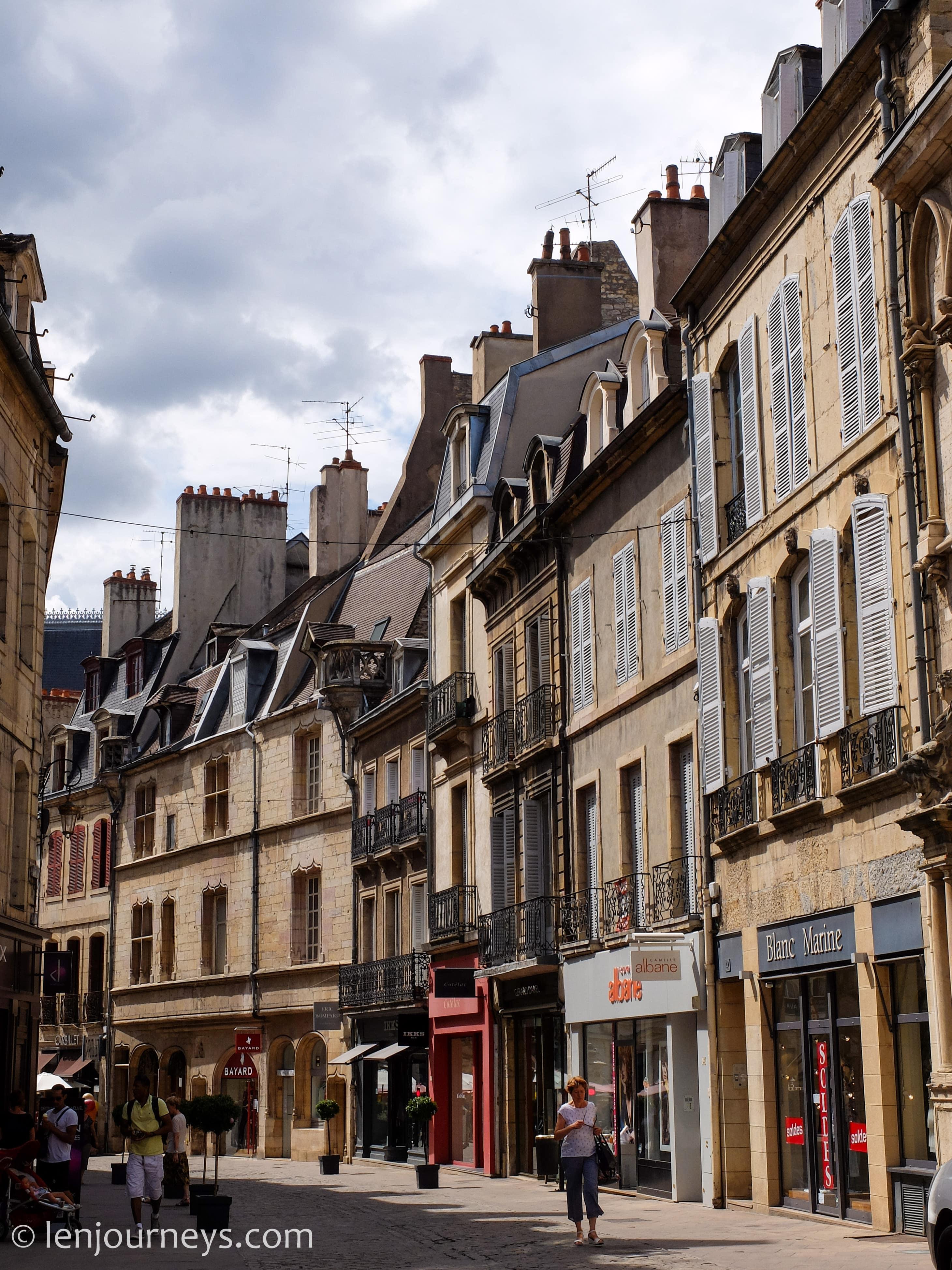 Street of Dijon