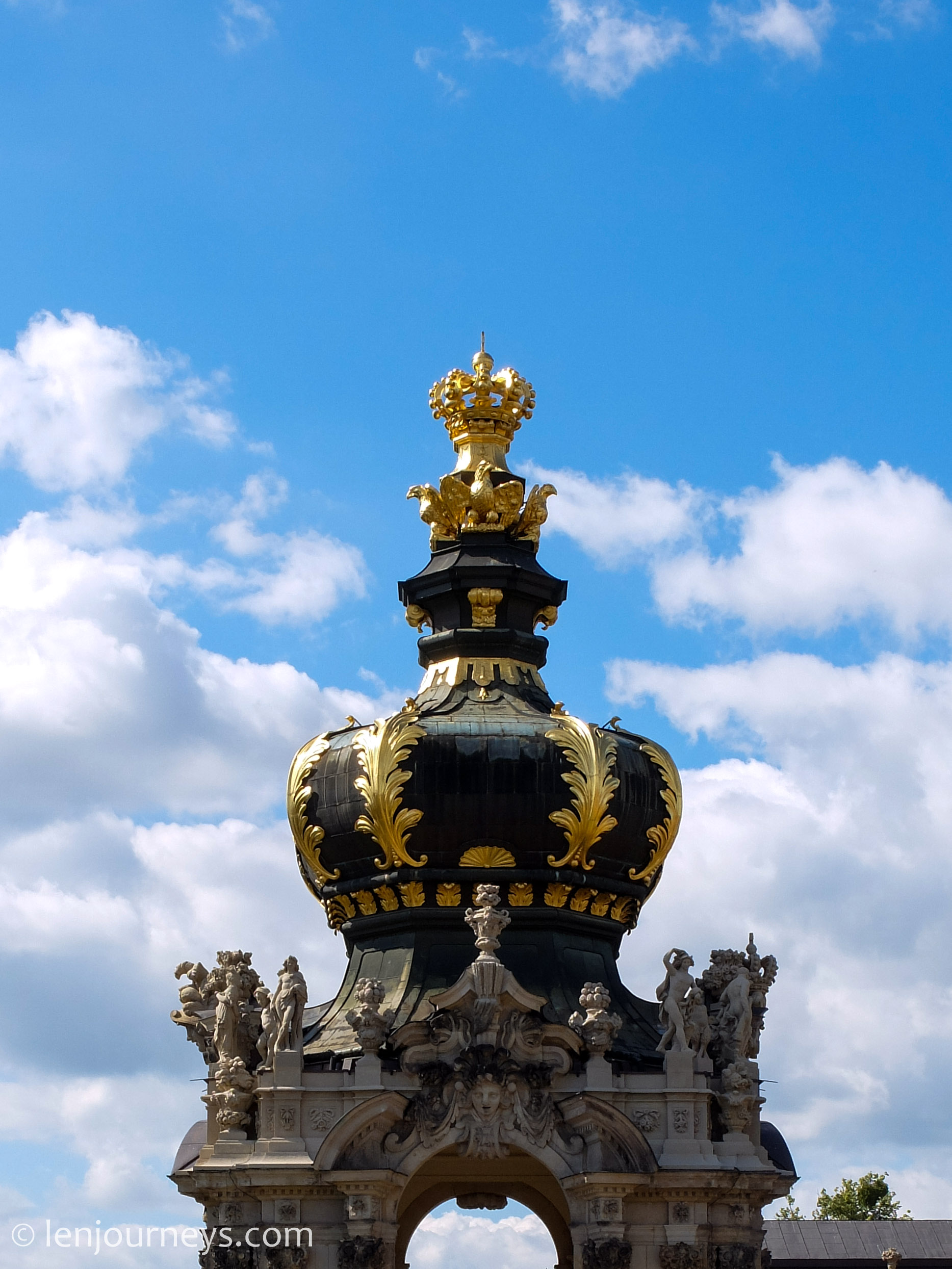 Ornaments in Zwinger Palace