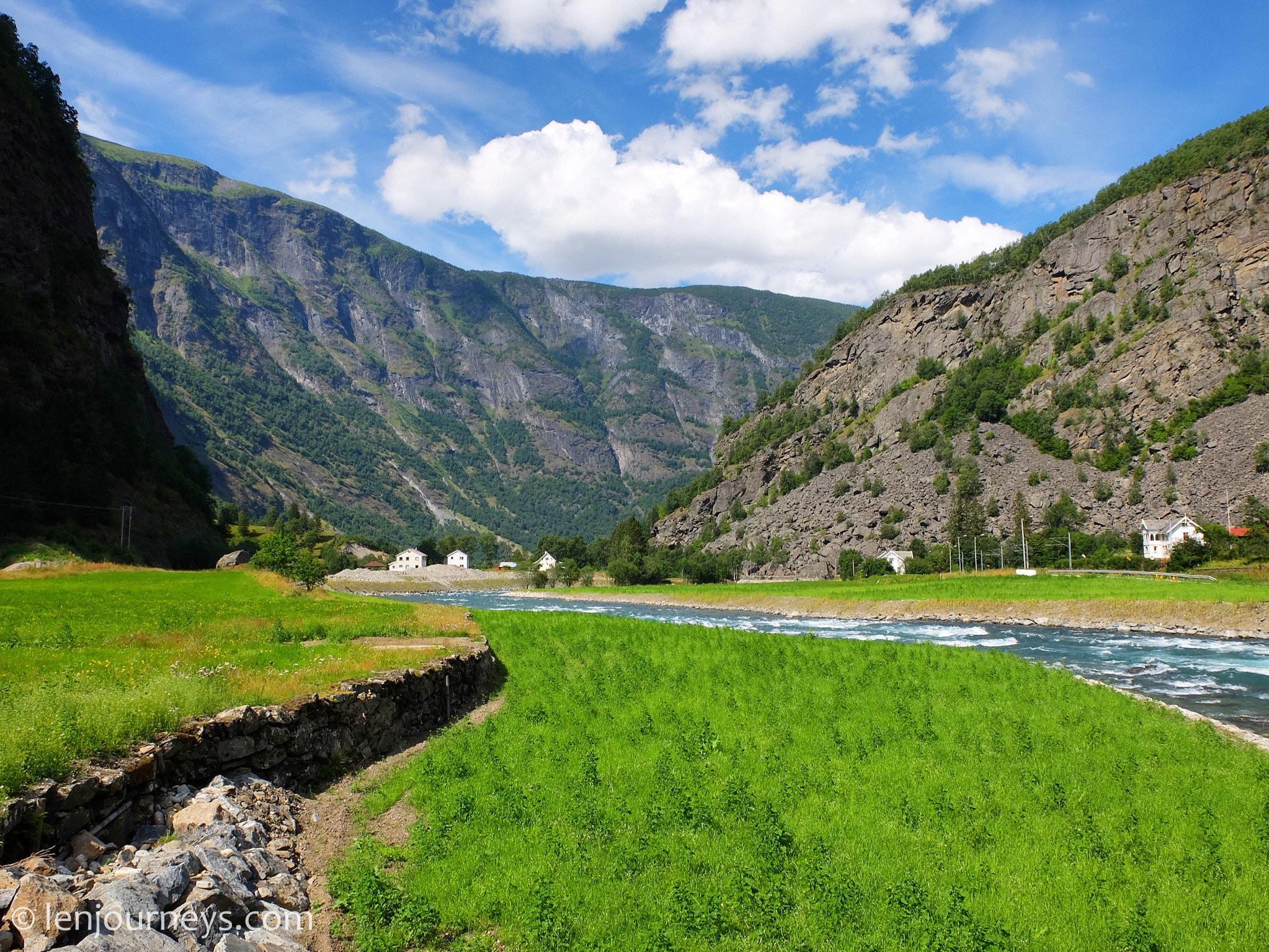 Flåm landscape