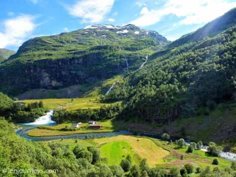 Valley of Flåm, Norway