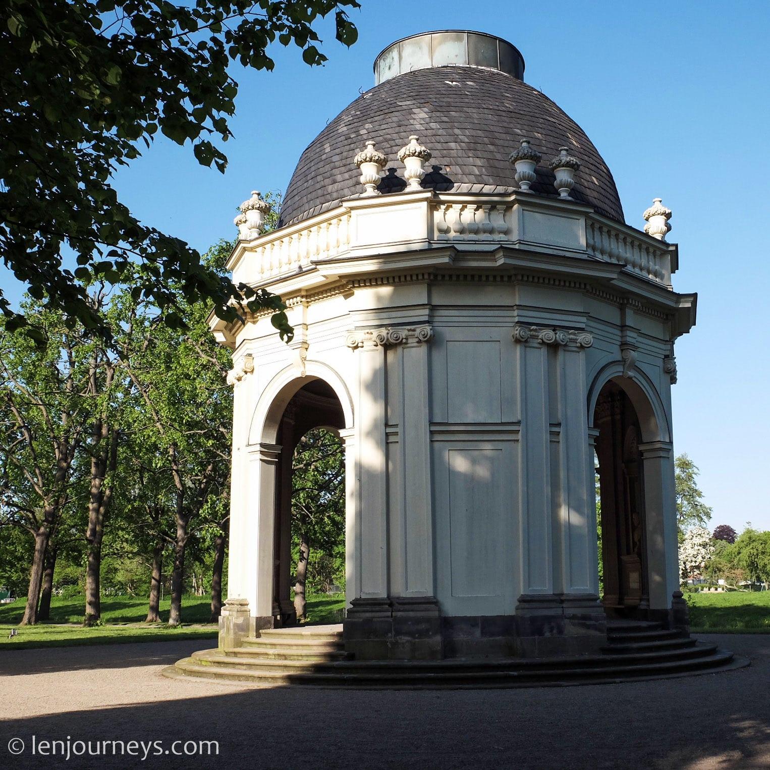 Temple of Love in Herrenhause Gardens