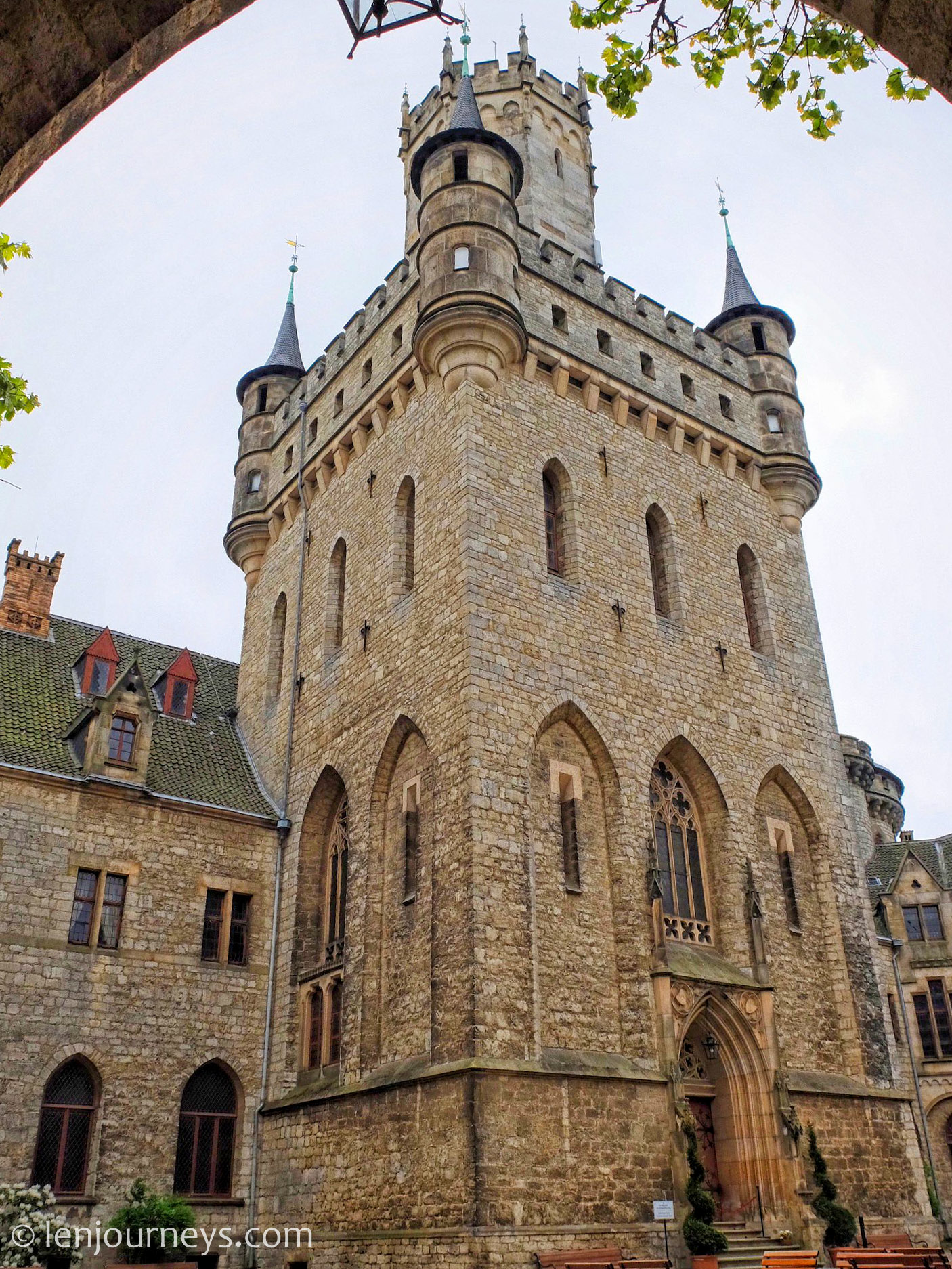 The central keep of Marienburg Castle