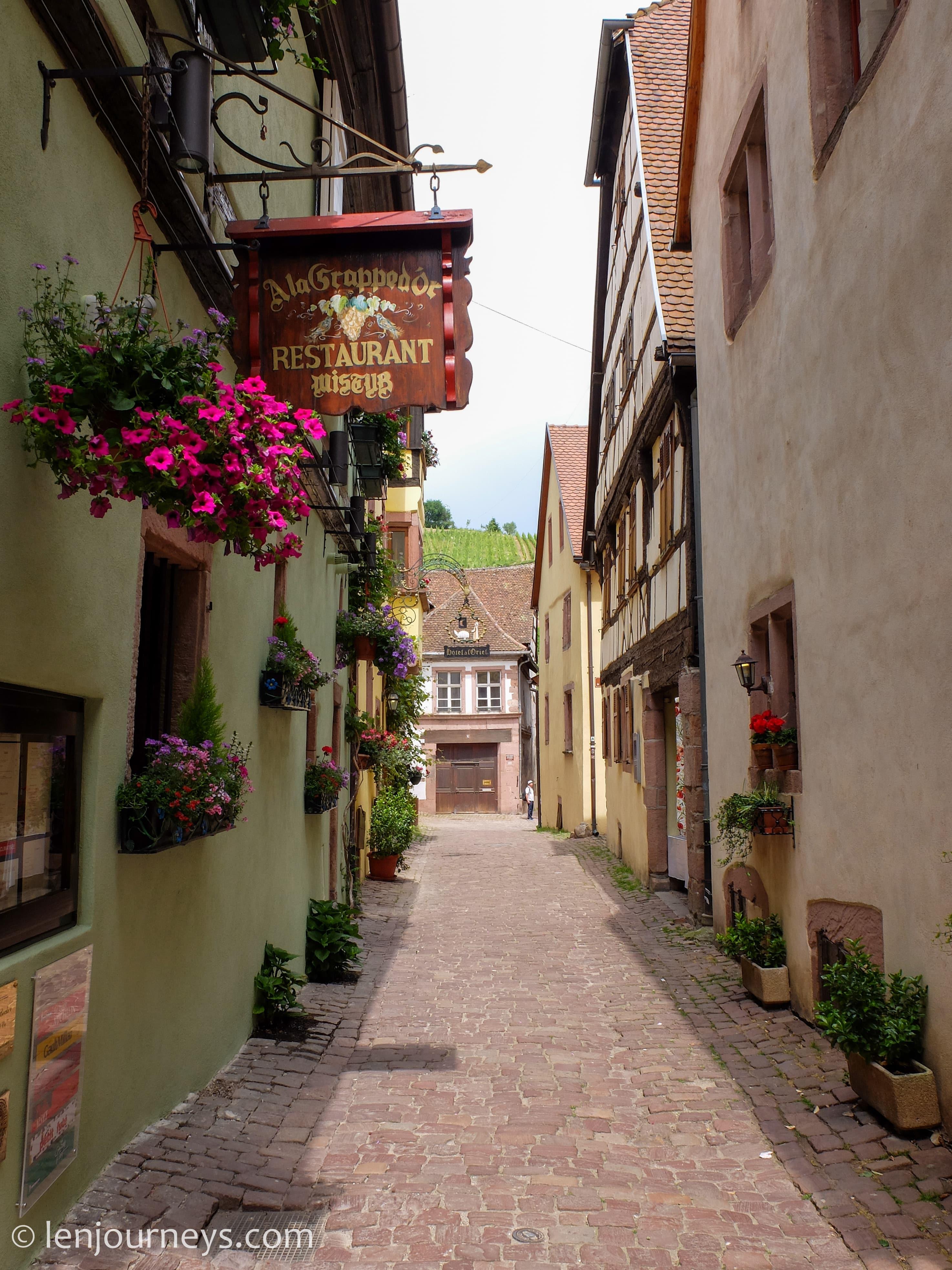 Alley in Riquewihr