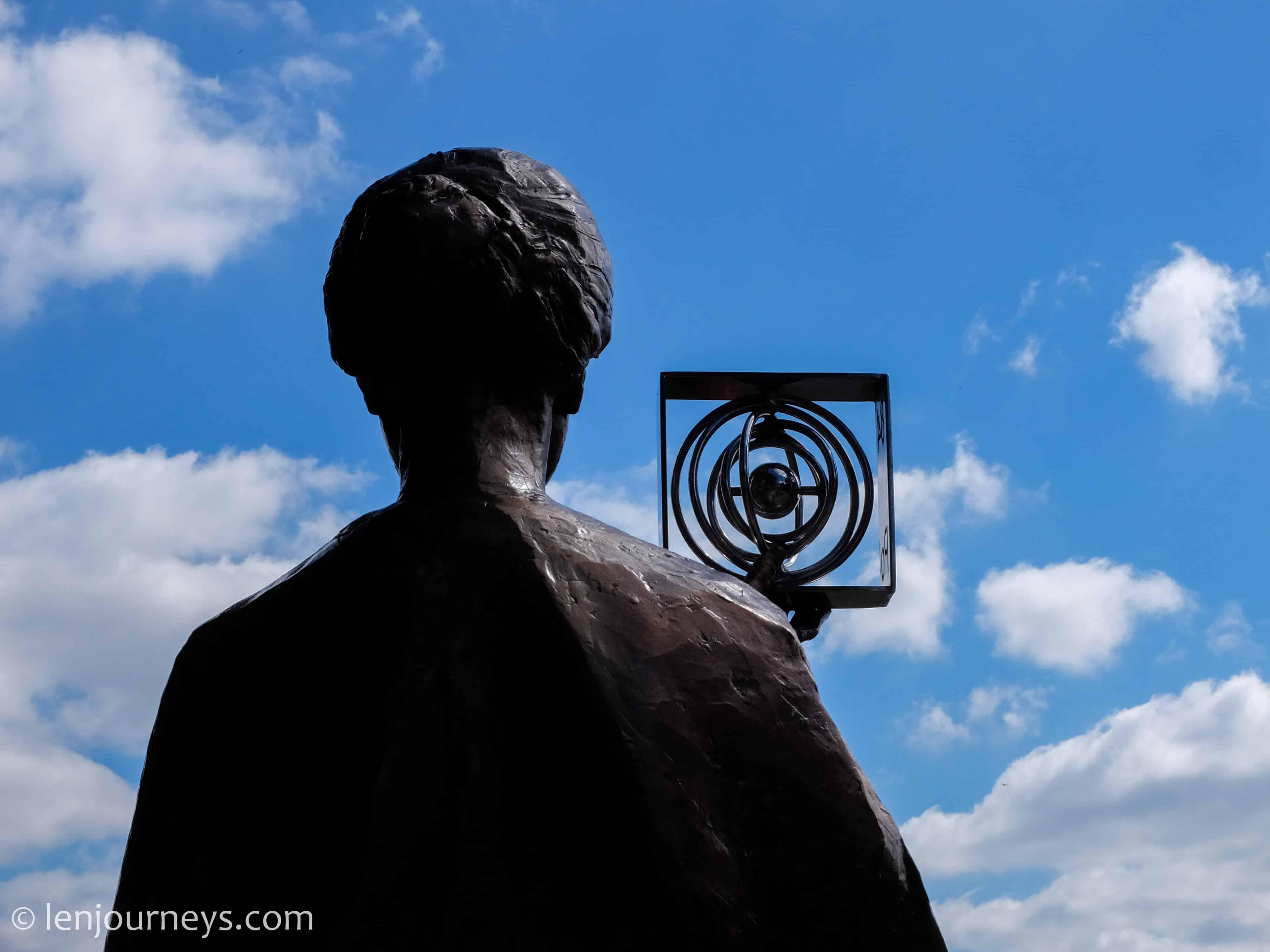 Marie Curie Statue