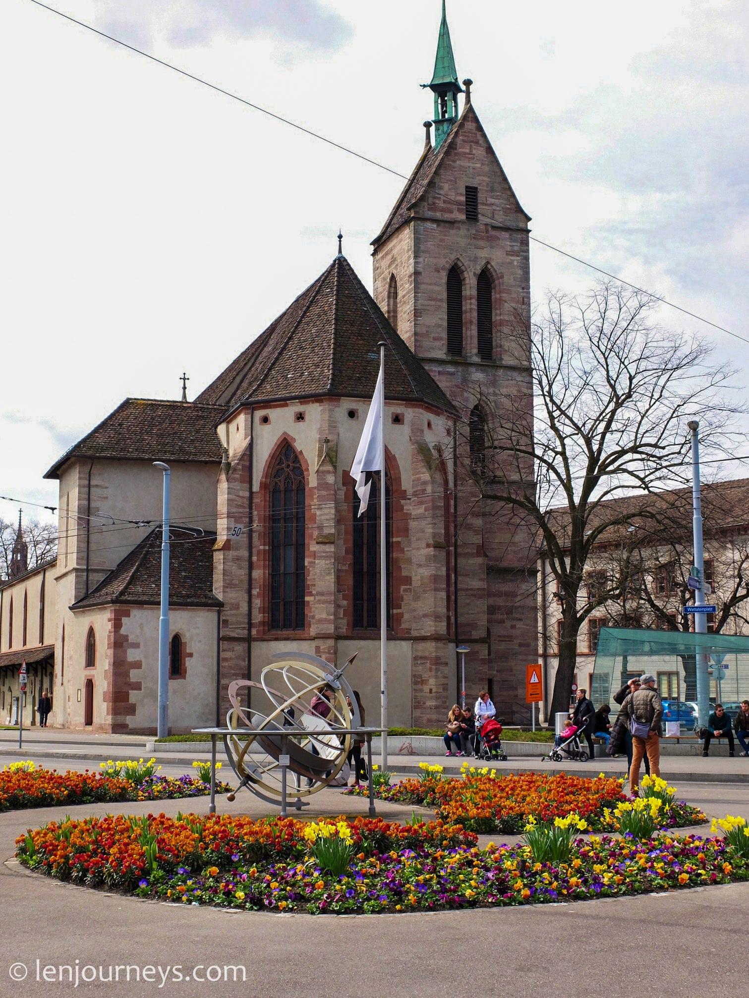 Historic church in Little Basel