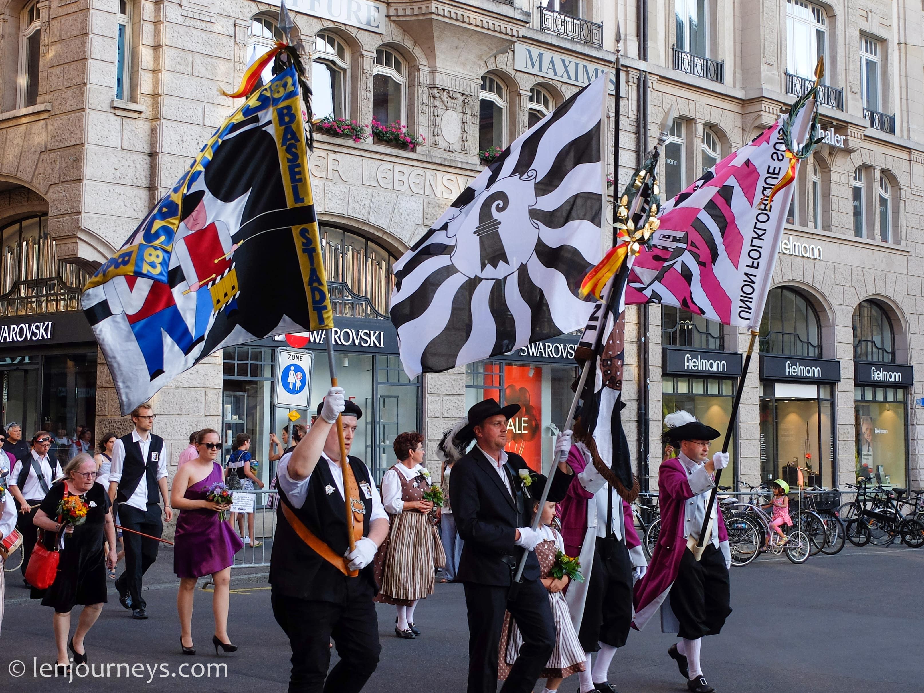 Parade at Basel Markplatz