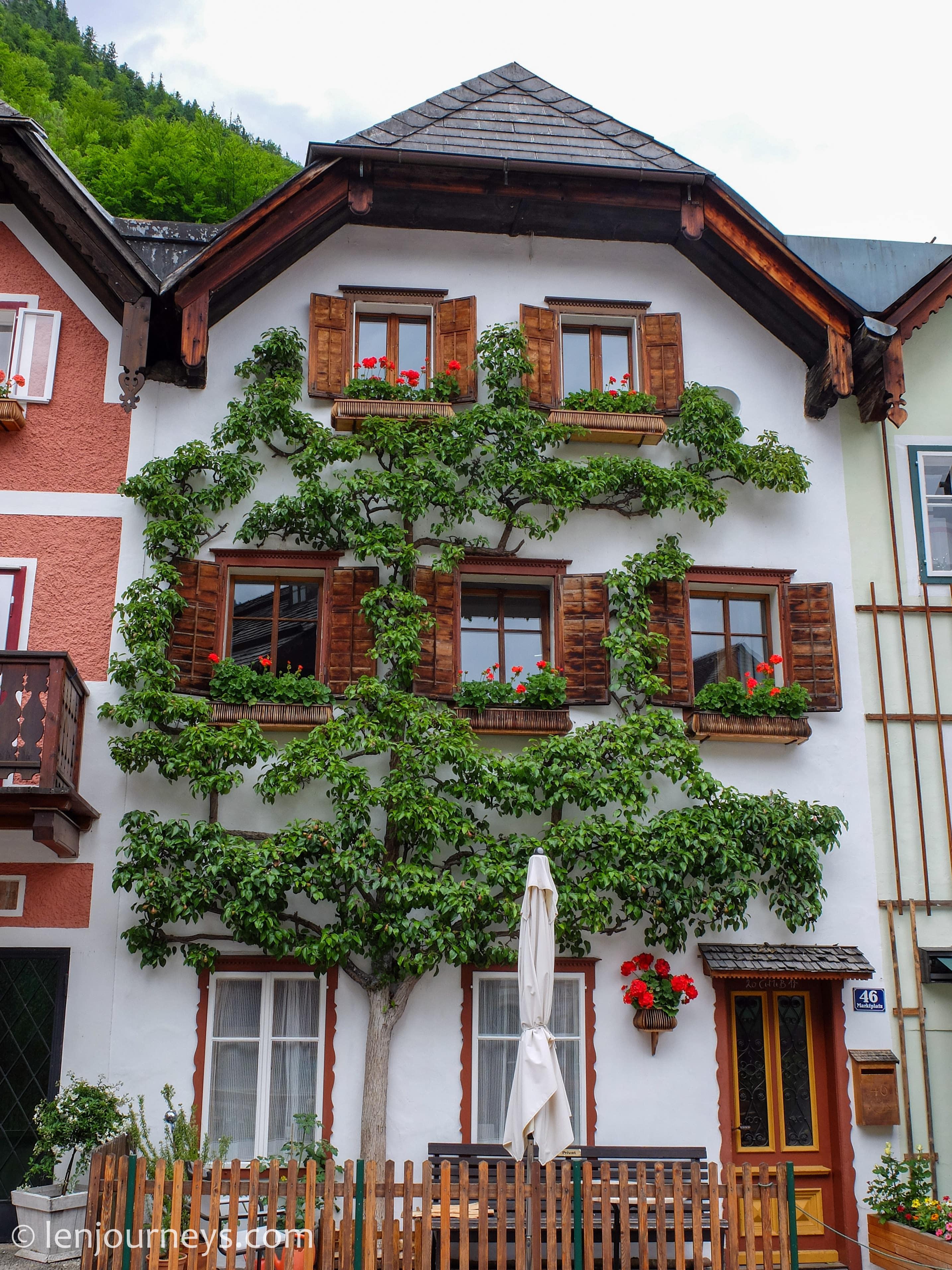 A house in Hallstatt