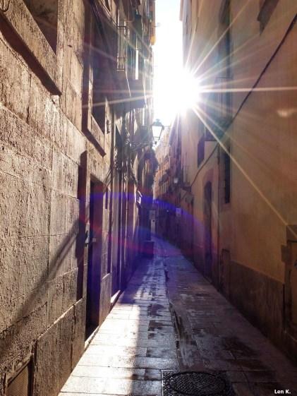 Barri Gòtic Alley