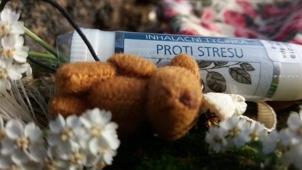 inhalační tyčinka proti stresu