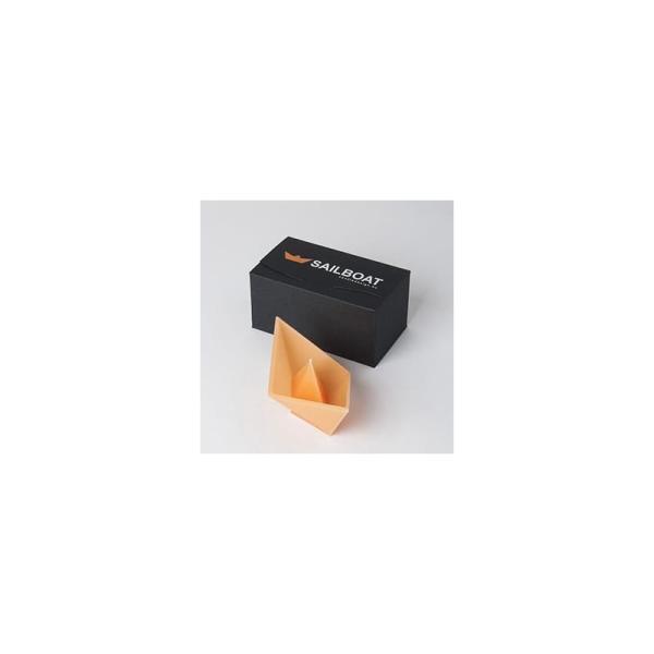 plovoucí svíčka Sailboat oranžová