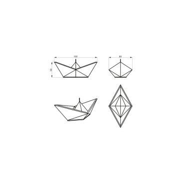 rozměry plovoucích svíček Sailboat