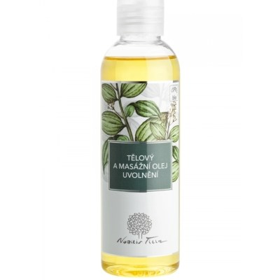 Tělový a masážní olej Uvolnění 200ml Nobilis Tilia